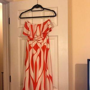 Summer easy breezy maxi dress.